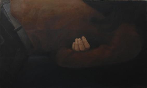 Klaas Bosch_Finger_50 x 30 cm_Öl auf Leinen_2014(1)